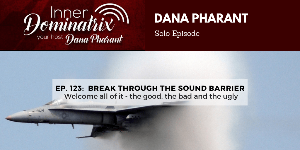 Episode #123:  Dana Pharant: Breakthrough the Sound Barrier