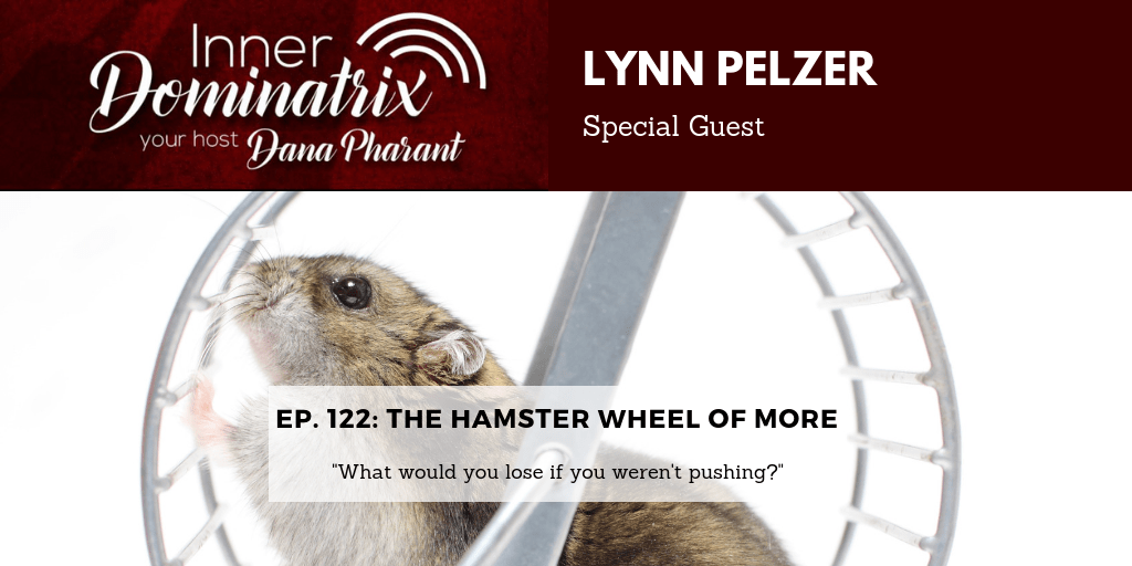 Episode #124:  Lynn Pelzer:  The Hamster Wheel of More