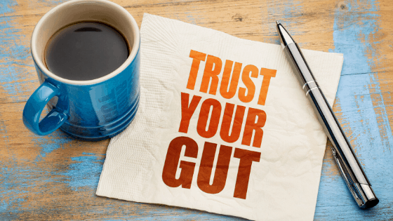 """Trust your Gut"" No one can tell you how to market your business and navigate during a pandemic, except for yourself."