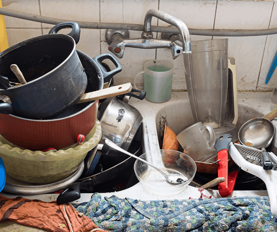Being a Control Freak can mean a sink full of messy dishes. Is your need to be in control helping or hindering?
